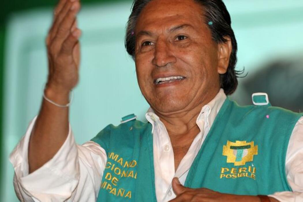 """Autocalificado como """"terco, indio y rebelde con causa"""", Toledo exhibe el..."""