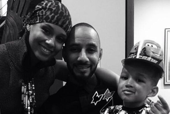 Alicia ya era mamá, su primer hijo se llama  Egypt Daoud.
