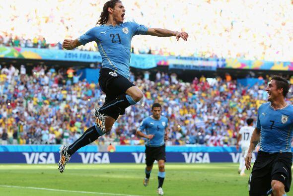 Uruguay cayó en un exceso de confianza con el gol conseguido por...