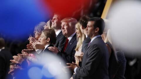 La familia Trump fue sin duda la gran protagonista de la Convención Repu...