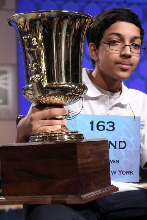 Arvind Mahankali, un estudiante de 13 años de Nueva York, se proclamó ca...