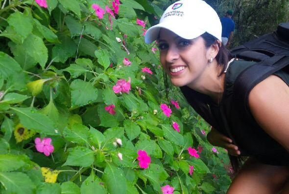 Estaba encantada con toda la vegetación que puedes encontrar en cada calle.