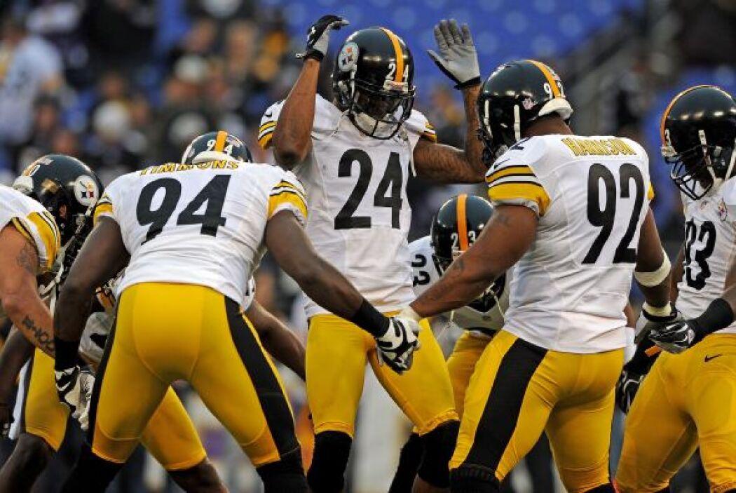 Los Steelers sorprendieron al vencer 23-20 a los Ravens.