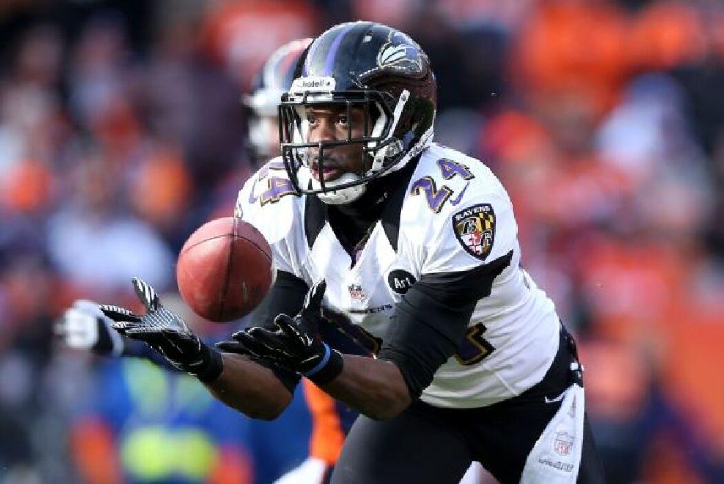 Pase interceptado a Peyton Manning, el autor: Corey Graham, quien se lo...