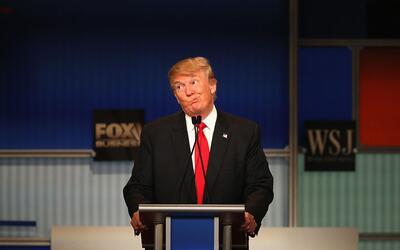 Donald Trump ha ido virando lentamente en su discurso sobre las leyes mi...