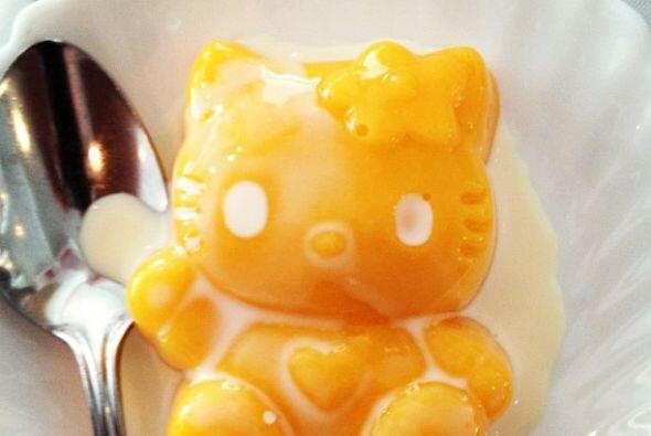 Este es el primer restaurante del Hello Kitty que cuenta con la comida c...