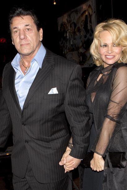 Anderson y Chuck Zito se fueron a cenar en Beverly Hills.