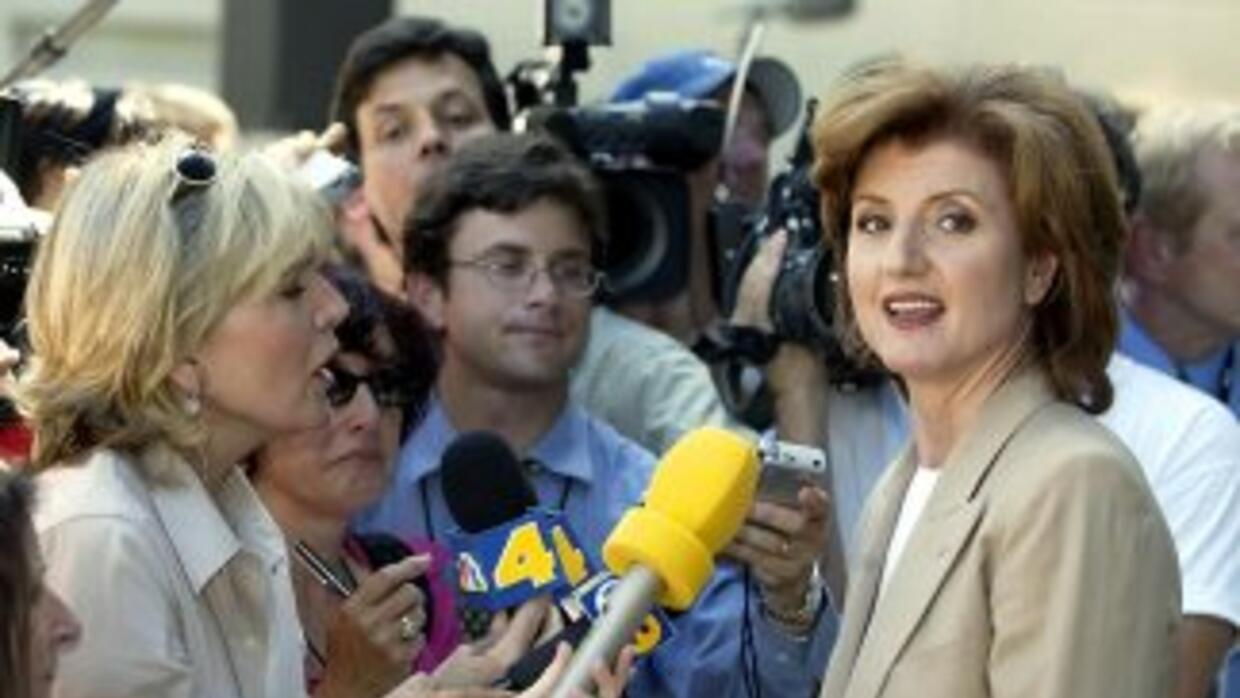 Arianna Huffington, fundadora del Huffington Post.