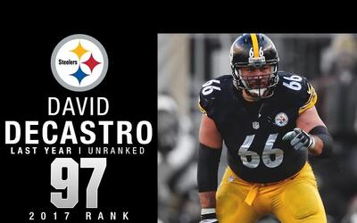 #97: David DeCastro (G, Steelers) | Top 100 jugadores 2017