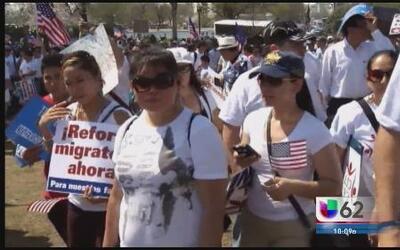 Proinmigrantes organizan marcha masiva