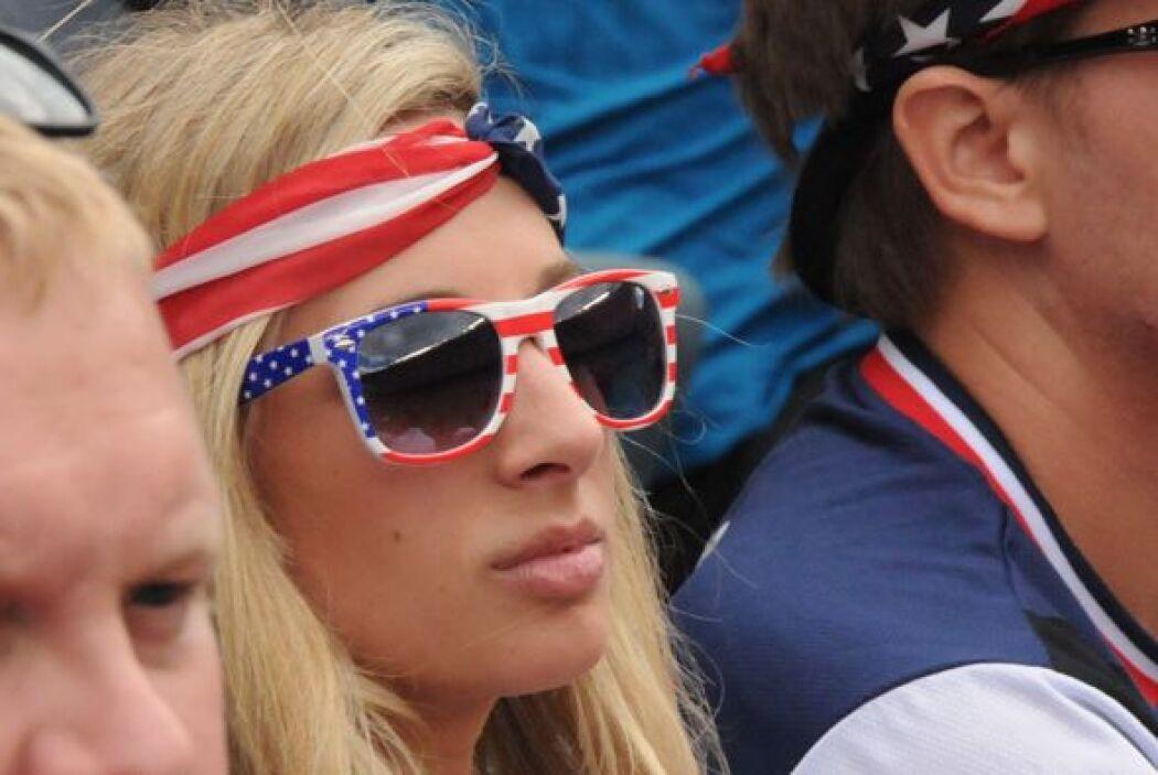 Aunque también las estadounidenses exhibieron su belleza.
