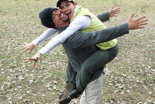 Además de ser pareja, se nota que Greidys y su prometido Luis Zaldívar t...