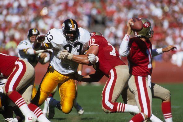 3. Keith Willis (1982-1991) con 59.0 capturas.