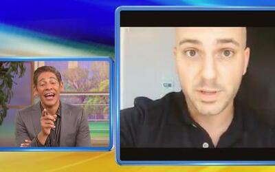 El JoJo lanzó el 'reto de lagartijas' a Johnny Lozada para apoyar al Tel...