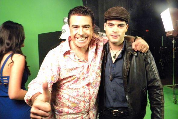 Adrián, el tercer finalista de Protagonistas, estuvo feliz de compartir...