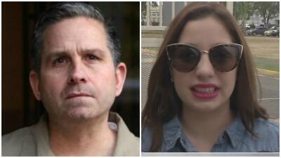 Andrea De Castro molesta por trato a su padre