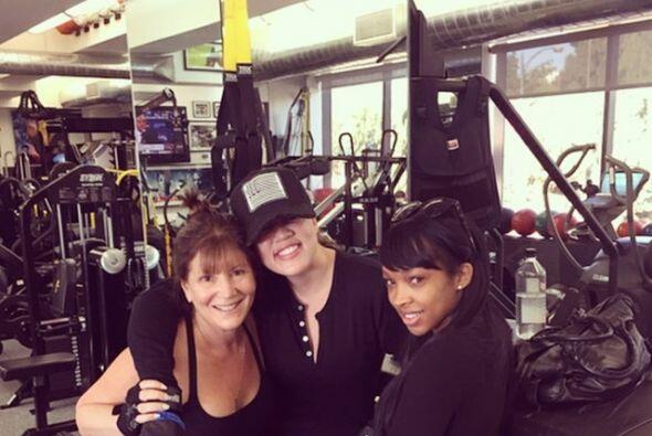 Sus redes sociales están llenas de momentos interesantes en el gym.