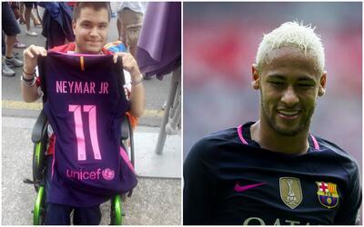Sergio González/ Neymar