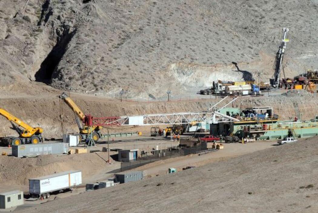 El rescate de los 33 mineros fue resultado de una ardua tarea de cuerpos...