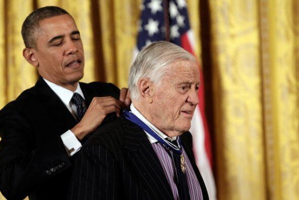 El periodista y editor estadounidense, Ben Bradlee también recibi...
