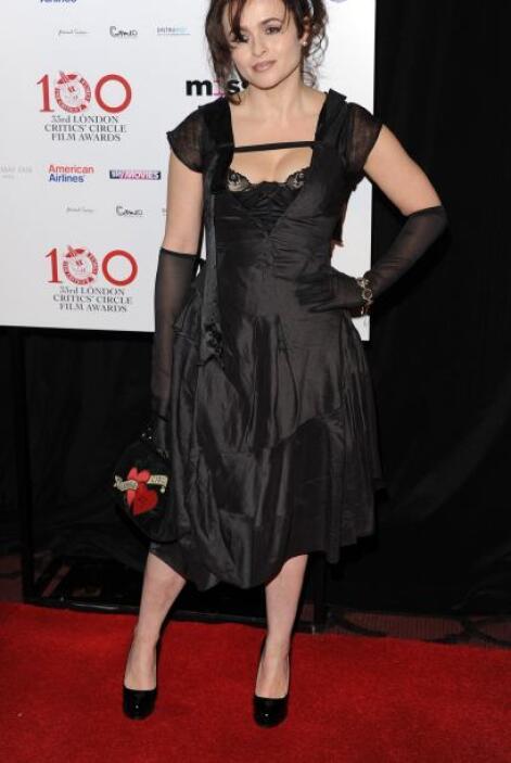 La que a cada rato comete abuso en contra de lo 'fashion' es Helena Bonh...