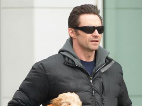 El actor Hugh Jackman es un orgullo papá, así lo demostr&o...