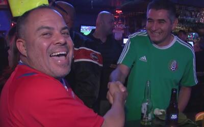 Así vivieron los hinchas el duelo entre México y Costa Rica en Los Ángeles