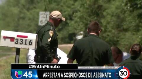 En Un Minuto Houston: Arrestan a dos sospechosos del asesinato de un hom...