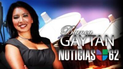 Blanca Gaytán es presentadora del clima de Noticias Univision 62.