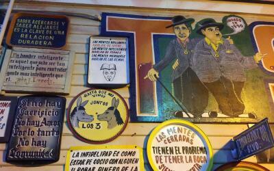 Arte y comida en un insólito restaurante mexicano