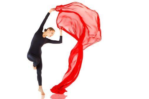 Las clases de danza aérea son súper 'chics', ya que no s&o...