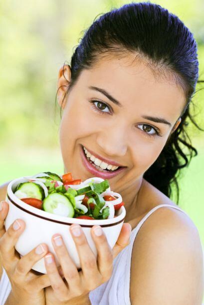 """""""Ser vegetariano ayuda a perder peso y a estar más saludable"""". Los veget..."""
