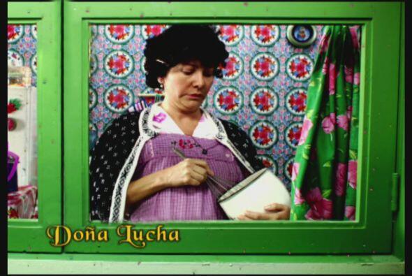 Doña Lucha siempre está al pendiente de sus 3 retoños, aunque Albertano...