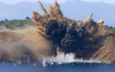 Así se entrena el ejército estadounidense y el surcoreano en la frontera...