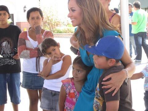 Satcha Pretto de Primer Impacto transmitió dos dias desde la plac...