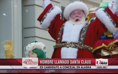 Santa Claus es candidato a Concejal en Alaska