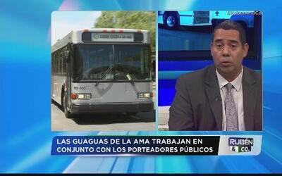 Cambios en sistema de transportación de la AMA