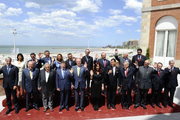 El vicecanciller ecuatoriano Kintto Lucas habló de lo que Unasur signifi...