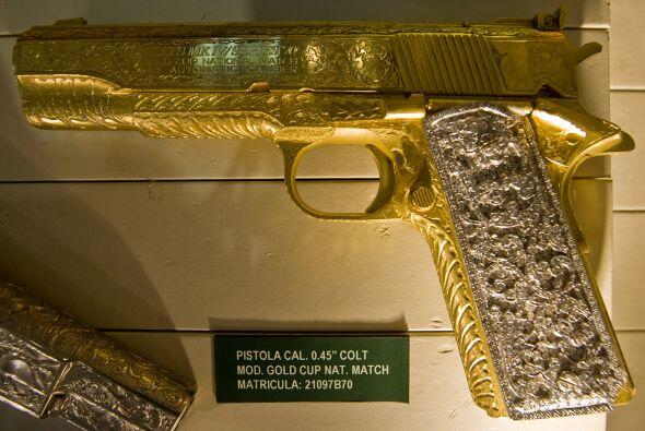 El Museo del Narco, no abierto al público, en la ciudad de México tiene...
