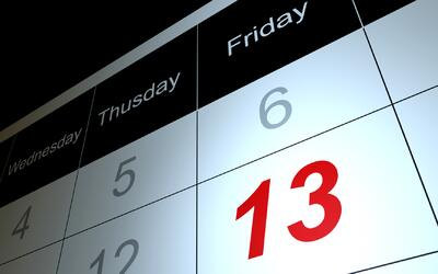 Viernes 13: ¿Día de verdadera mala suerte o de pura superstición?