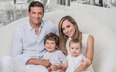 Satcha Pretto y su familia están de fiesta