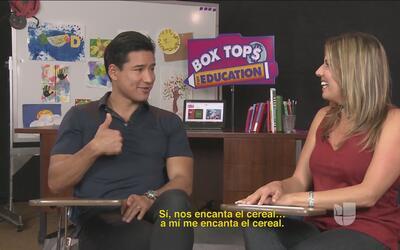 Mario Lopez se lanzó con nosotros y contestó preguntas bien picosas