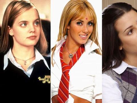 Ellas son algunas de las actrices que se han dado a conocer como estudia...