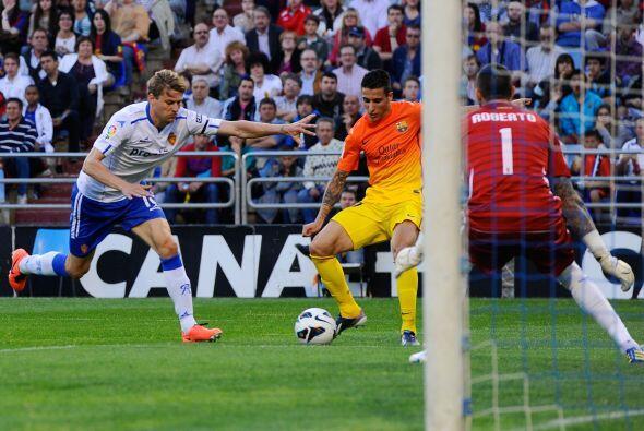 Pero fue un juvenil el que aumentaría la ventaja del Barcelona.
