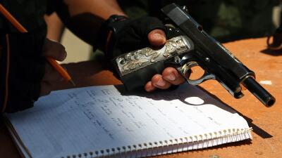 Los grupos de autodefensa se alzaron en armas en 2013 en Michoacán.