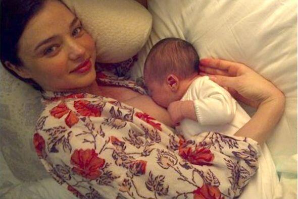 La modelo Miranda Kerr hizo público su apoyo a esta prácti...