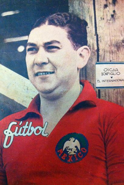 Oscar Bonfiglio (1930).- El 'Yori' Bonfiglio fue el primer arquero que t...