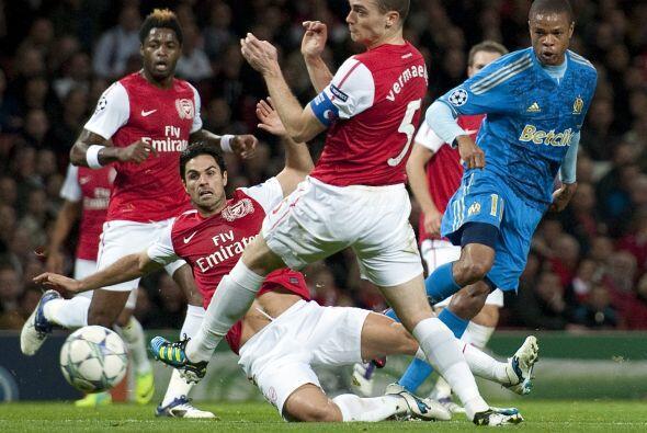 Marsella y Arsenal se reencuentran en la fase de Grupos dos años después...