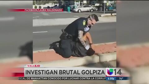 Policía da brutal golpiza a un hombre durante un arresto