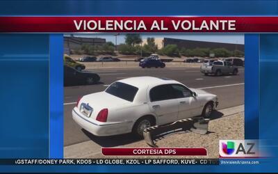 Crecen casos de conductores violentos